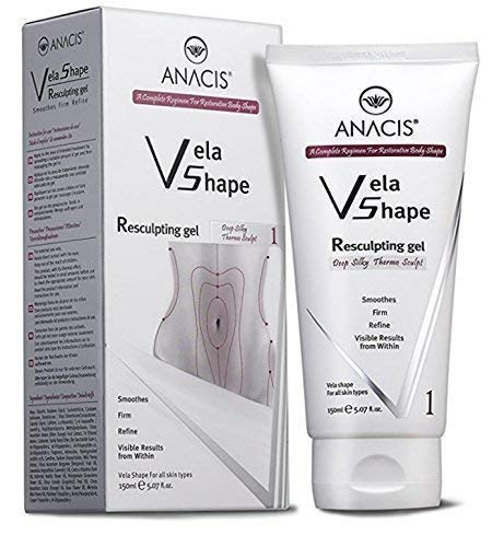 Anti Cellulite Cream Firming Resculpting Gel Exclusive Body Toning Hot Thermo Treatment. Anacis - 5.07 Oz