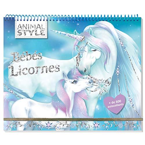 Animal Style - Cahier créatif Bébés licornes