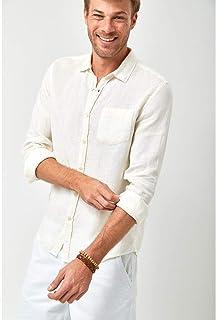 Camisa Linho 100% - Branco
