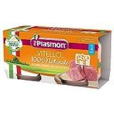Plasmon Omogeneizzato con Vitello e Cereale, Confezione da 12 x 80g