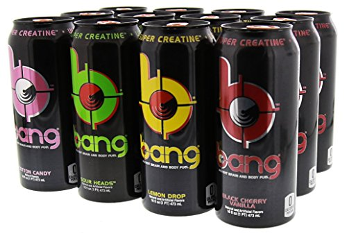 VPX Bang Variety Pack 2 RTD - 16 Fl. Oz (12 Count) (1 PT) 473 ml