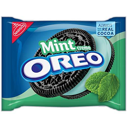 Oreo Mint Creme Chocolate Sandwich Cookies (432g)