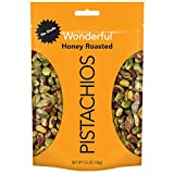 Wonderful Pistachios, No Shells, Honey Roasted, 5.5 Ounce Resealable Pouch...