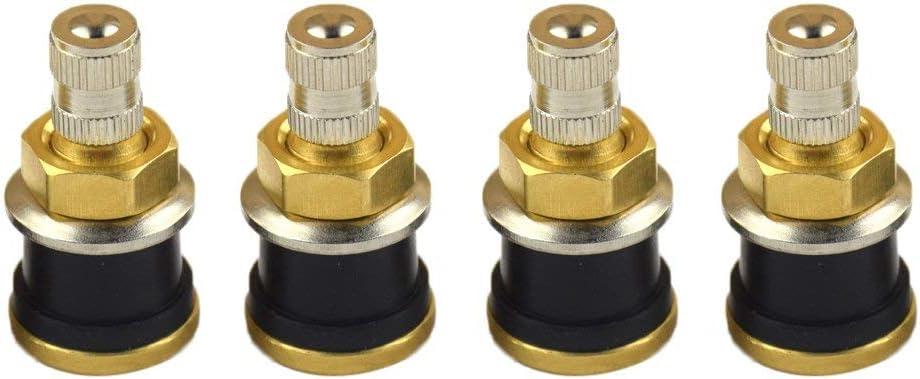 GUOCAO 4pcs TR575 Wheel Ultra-Cheap Deals Free shipping Parts Clamp Brass Rod Tube Valve