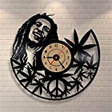 ESS 12Inch Quartz Wall Clock Antique Style Large Decorative Wall Clocks Vinyl Record Clock Living Room Art Watch Gift Personalised Gift decordecorative Gift Wrap Paper