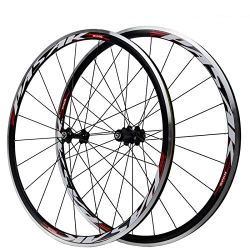 700C Road Bike Front Rear Bicycle Wheel Set 30mm Front Rear Wheel Aluminum Hub Brake C/V 7/8/9/10/11...
