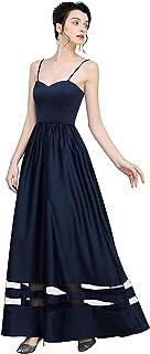 Vanansa Women's Casual Dress Evening Dress Floor Length Wedding Dress for Women Evening Gown