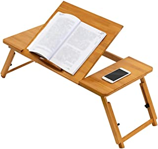 Laptop Bed Table,Portable Lap Desk,Notebook Stand Reading Holder,Notebook Table Dorm Desk with Foldable Legs for Watching ...