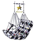 AKworam™ Cotton Swing for Kids Baby's Children Folding and Washable 1-3 Years