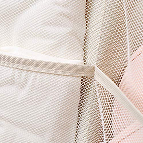Toy Storage Teddy Hammock, Large Mesh Toys Holder Net Organiser with 3 Strong Hooks for Baby Kids Bedroom