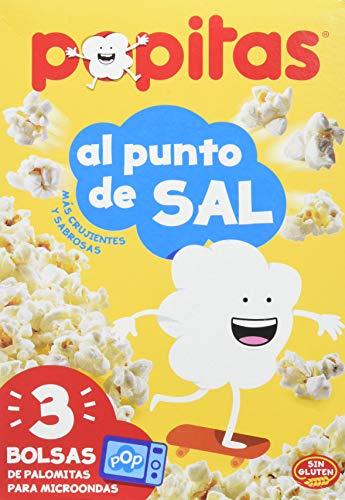 BORGES POPITAS - Palomitas micro pack de 3, 300GR