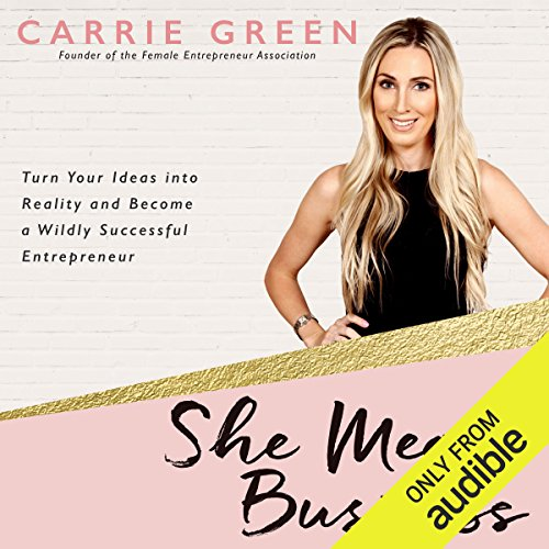 She Means Business cover art