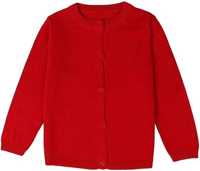 Kimjun Infant Baby Girls Cardigan Sweater Toddler Knit Button up Outwear 6-24 Months
