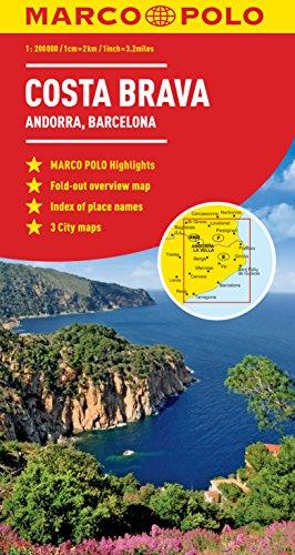 Marco Polo Costa Brava Map