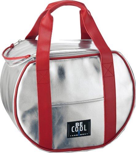 ALFI Be Cool - Borsa Termica Rotonda, Colore: Argento, 21 L