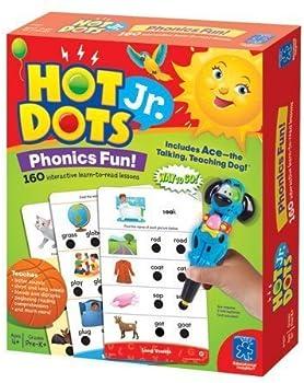 Educational Insights 160 Lessons Hot Dots Jr. Phonics Fun Set