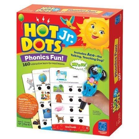 Educational Insights Hot Dots Jr. Phonics Fun Set, 160...