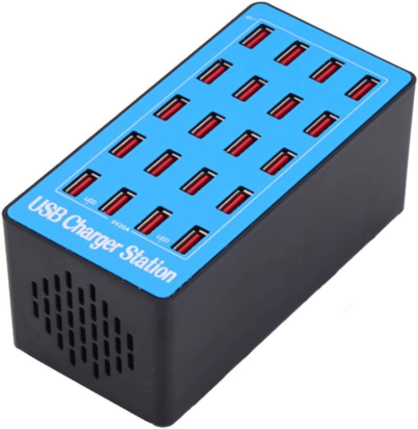 Year-end gift FMOGE Multi Cheap super special price Port USB Charger 20 Charging Statio Desktop
