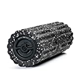 Body Bolt Vibrating Foam Roller - Electric Foam Roller with 4 speeds - Deep Tissue Trigger Point Sports Massage Therapy, High Intensity Massager Roller, 3hr Battery (Relaxed Recovery)