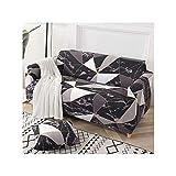 N/A Sofabezug Baumwolle Blumendruck Sofatuch Schonbezug Sofabezüge Für Wohnzimmer Sofa Schützen Möbel Farbe 24 1-Seat 90-140Cm