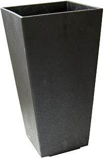 Tierra Verde 10 in. x 20 in. Slate Rubber Self-Watering Planter (1)