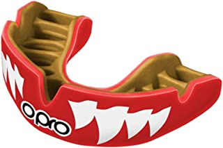 OPRO Power-Fit Mouthguard | Gum Shield for Rugby, Hockey, Wrestling, and Other Combat and Contact Sports (Adult and Junior Sizes) - 18 Month Dental Warranty