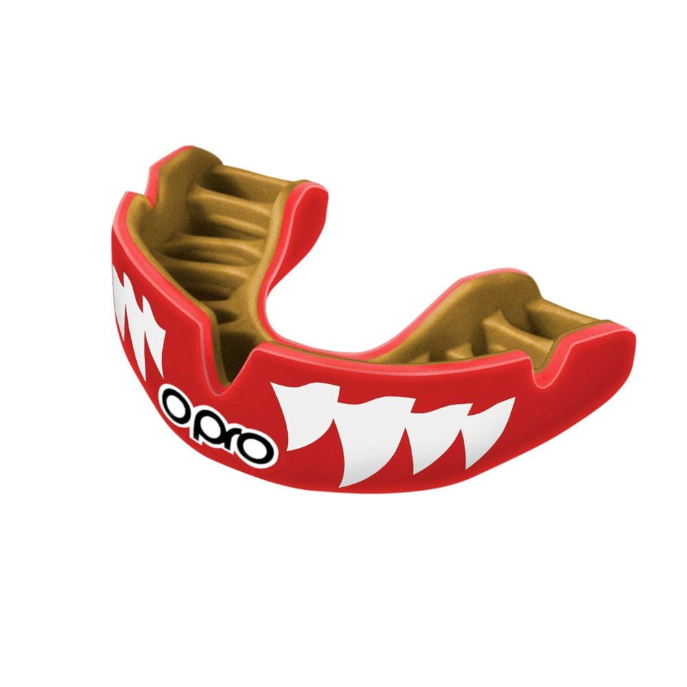Gum shield for Rugby and Other Contact Sports- Includes Dental Warranty Hockey OPRO Power-Fit Mouthguard MMA