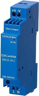 AC/DC DIN Rail Power Supply (PSU), 1 Output, 10.1 W, 12 V, 840 mA