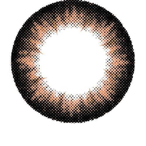 Matlens - Pro Trend Farbige Kontaktlinsen mit Stärke braun brown Big eyes Apollo NPX-A06 2 Linsen 1 Kontaktlinsenbehälter 1 Pflegemittel 50ml