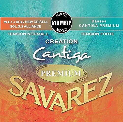 Savarez Saiten Klassische Gitarre Creation Cantiga Premium Gemischte Spannung normaler/starker Satz