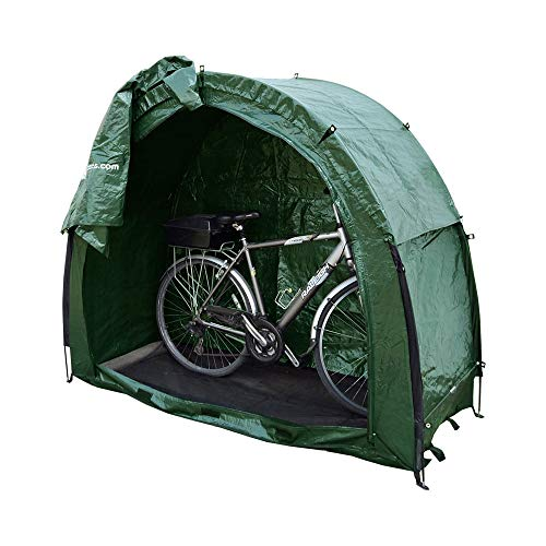Outdoor Garden / Patio Durable Weatherproof Bicycle Cycle Tent / Cave / Garage For Bike, Scooter Or Storage In Green