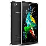 Moviles Libres 4G, DUODUOGO J3 Smartphone Libres Android 9.0 Quad Core 16GB ROM/Escalable 128GB Movil Libre 5.0 Pulgadas HD Doble Cámara/SIM Telefono Movil 2800mAh WiFi Bluetooth (Negro)