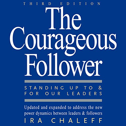 The Courageous Follower audiobook cover art
