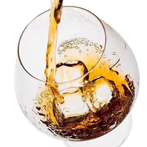 Exklusives Edelstahl Whisky Steine Geschenkset – Hohe Kühltechnologie - 8 Whisky Eiswürfel Wiederverwendbar - Edelstahl Eiswürfel - Besondere Geschenke für Männer - Edelstahl Kühlstein von Amerigo - 7