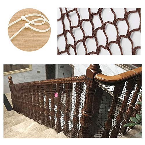 Amazing Deal Net for Stairs,Balcony Net,Child Safety Net Kids Protection Fence Decor Climbing Woven ...