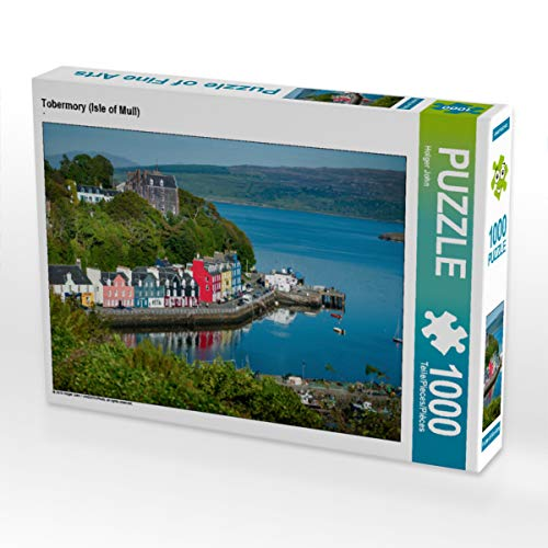 CALVENDO Puzzle Tobermory (Isle of Mull) 1000 Teile Lege-Größe 64 x 48 cm Foto-Puzzle Bild von Holger John