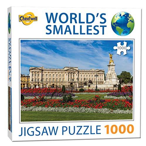 Cheatwell Games Rompecabezas de 1000 Piezas más pequeño del Mundo Buckingham Palace (13206)