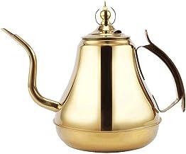 GenericBrands Czajnik korona garnek wierzch czajniczek ze stali nierdzewnej 304 czajniczek z filtrem hotel restauracja z ...