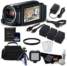 Canon VIXIA HF R800 Camcorder (Black) Full HD 1080p - Gold Level Bundle