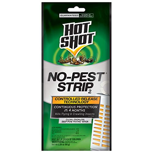 Hot Shot HG-5580 Pest Strip, Pack of 12, Brown/A