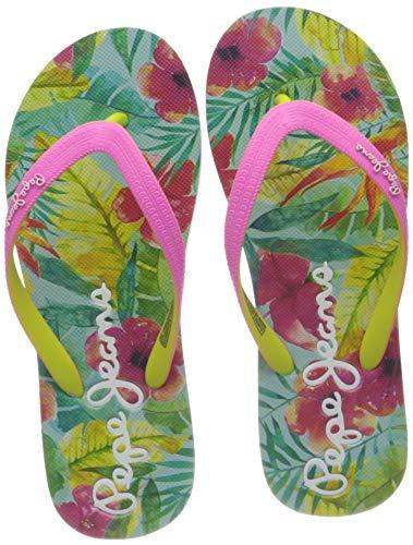 Pepe Jeans London Dorset Hawai, Sandal, 357FUCHSIA, 37 EU