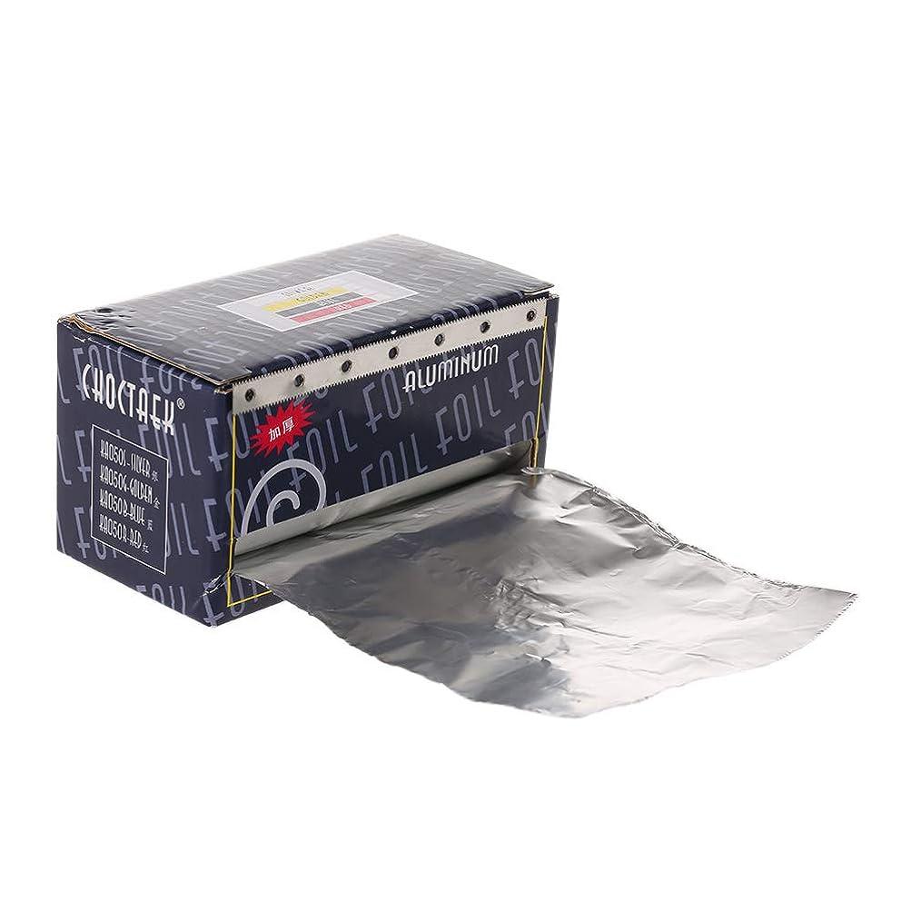 ロボット敵対的インタビューDecdeal ヘア/ネイル用 錫箔紙 理髪用品用アルミ箔 ヘアサロンツール ヘアパーマヘアスタイリング着色