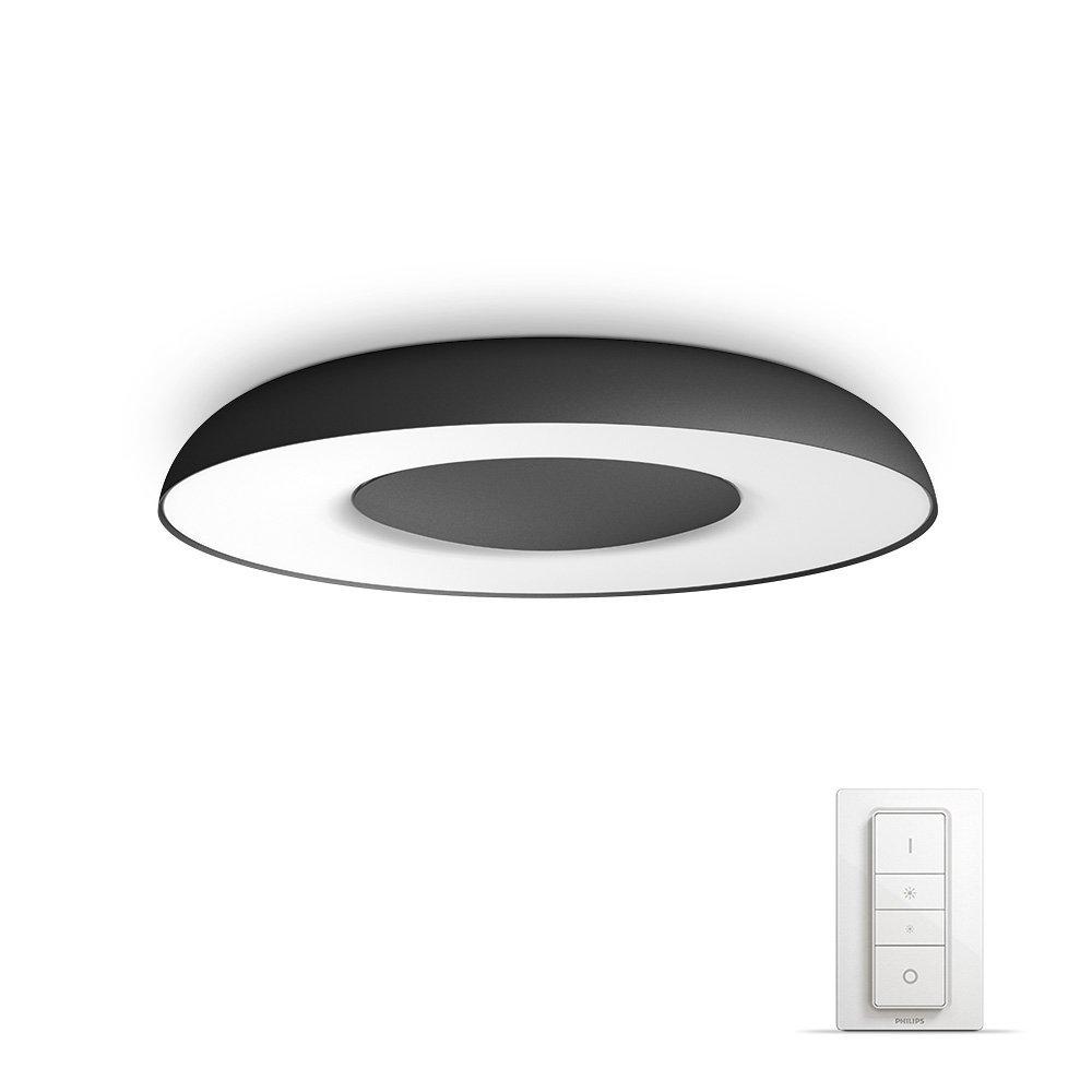 Philips Hue Still Plafón Inteligente LED con Mando, Luz Blanca Cálida a Fría, Compatible con Alexa y Google Home: Amazon.es: Iluminación