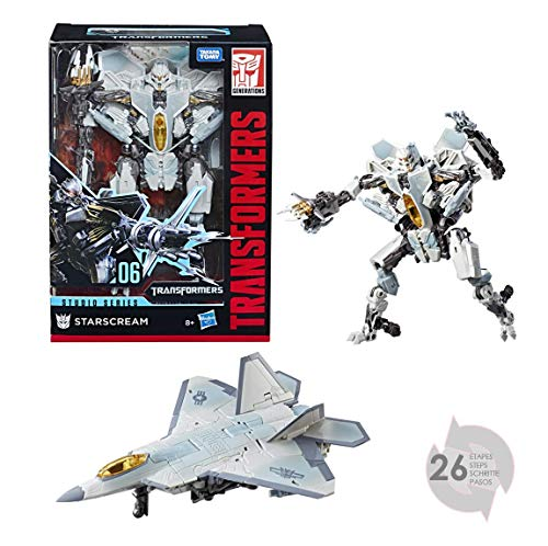 Hasbro Transformers E0774ES0 - Studio Series Voyager Figur Starscream Roboter-Actionfigur