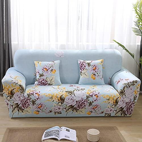 Vardagsrum soffa elastiskt sofföverdrag geometriskt tryck sofföverdrag sofföverdrag 1/2/3/4 sits hörn soffa bomullsöverdrag A25 4-sits