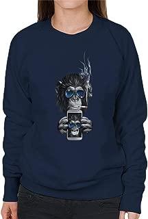 Cloud City 7 Calcifer Retro Japanese Mens Hooded Sweatshirt