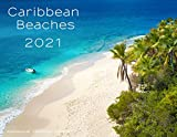 "2021 monthly wall calendar 12 full color images of Caribbean Beaches by an artist photographer Christian Wheatley size closed: 8.5"" x 11"", size opened: to 17"" x 11"", binding: saddle-stitched (stapled) cover: 100 # Gloss, inside: 100 # Gloss, UV coati..."