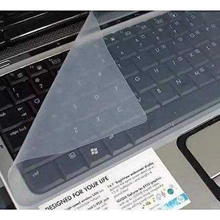 "Lapster Universal Silicone 15.6"" Keyboard Protector Skin  Keyboard Dust Cover  Keyboard Skin for 15.6"" Laptop 15.6"" Keyguard "