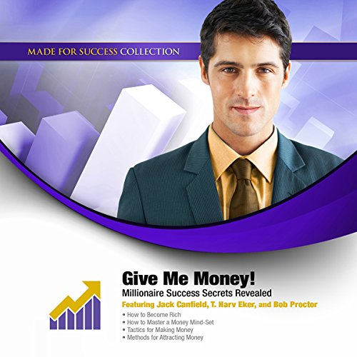 Give Me Money! audiobook cover art