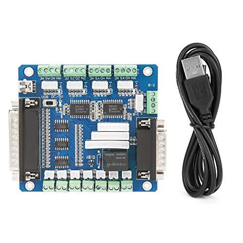 Riuty Achse 5-Achsen-CNC-Schrittmotor-Treiberplatine LPT-Schalter MACH3-Schnittstellenkarte